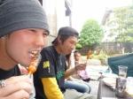 浦田とウインナー